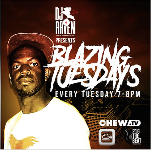 2018 Blazing Tuesdays Flyer